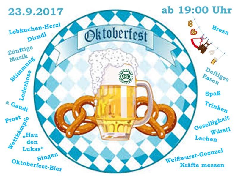 Saisonabschluß/Oktoberfest 2017