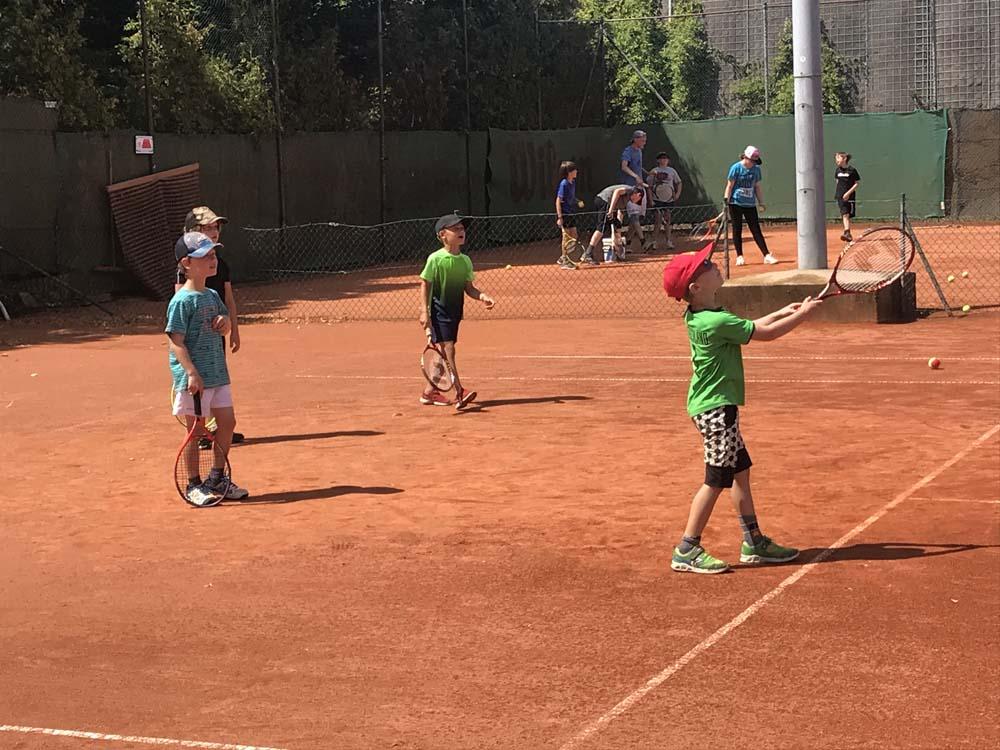 Tennis-Intensivtraining 2020